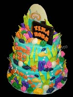 Baby Amp Me Under The Sea Baby Shower Cake